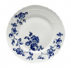 Richard Ginori Rose Blue Flat Plate 26cm